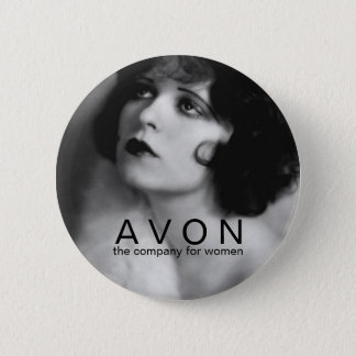 Vintage AVON beauty button