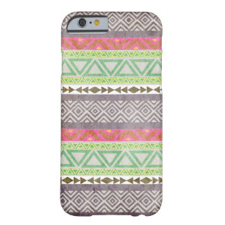 Vintage Aztec Tribal Pattern 1 iPhone 6 case Barely There iPhone 6 Case