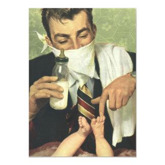 Vintage Baby Shower for Men, Dadchelor Invitation