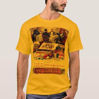 Vintage Bachelor Party Poker Gambling Cigar Label T-Shirt