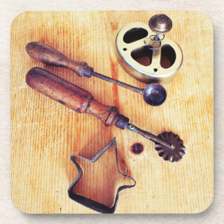 Vintage Baking Tools Coaster