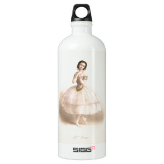 Vintage Ballerina - Beautiful Ballet Water Bottle