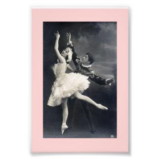 Vintage Ballet Dancers Photo Print