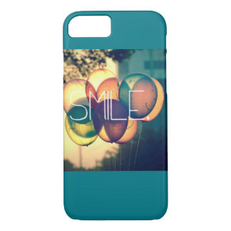 vintage balloons smile iphone case