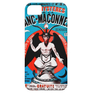 Vintage Baphomet Art on iPhone 5 Case. Creepy! iPhone 5 Case