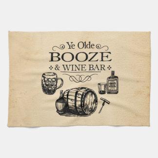 Vintage Bar Room Kitchen Towel