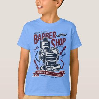 Vintage Barber Shop Kids' TAGLESS® T-Shirt