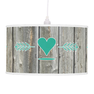Vintage Barn Wood Lamp Shade