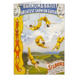 Vintage Barnum and Bailey Circus Card
