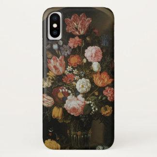 Vintage Baroque, Flower Piece by Bosschaert, Elder iPhone X Case