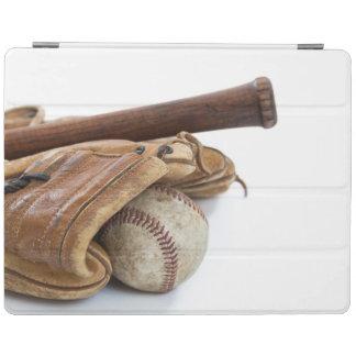 Vintage Baseball and Bat iPad Cover