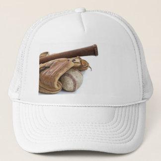 Vintage Baseball and Bat Trucker Hat
