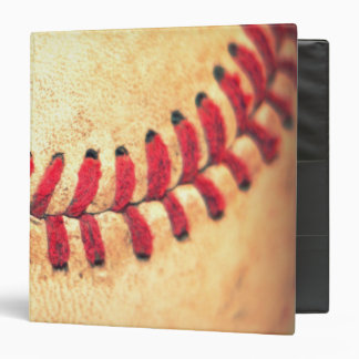 Vintage baseball ball binder