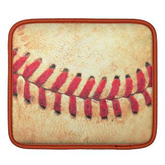 Vintage baseball ball iPad sleeve