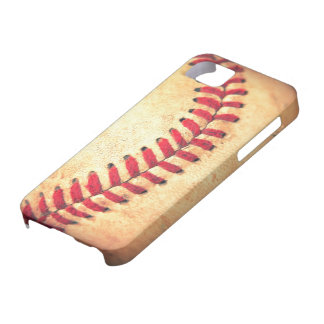 Vintage baseball ball iPhone 5 case