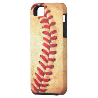 Vintage baseball ball iPhone 5 cover
