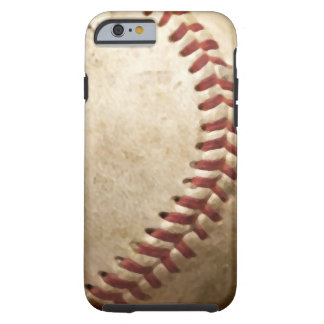 Vintage Baseball Close-up Tough iPhone 6 Case