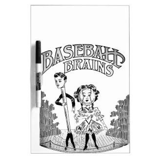 Vintage Baseball Design Dry Erase Board