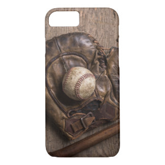Vintage Baseball Equipment iPhone 8/7 Case