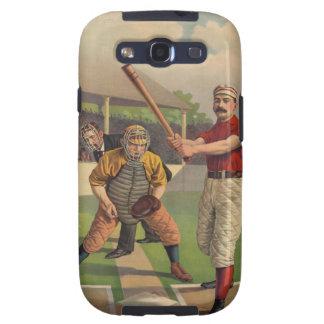 Vintage Baseball Galaxy S3 Cover
