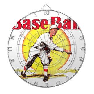 Vintage Baseball Graphic Dartboards