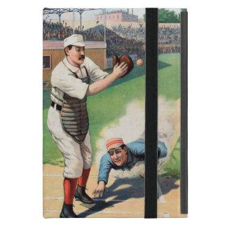 Vintage Baseball Illustration Cover For iPad Mini