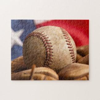Vintage Baseball Jigsaw Puzzle
