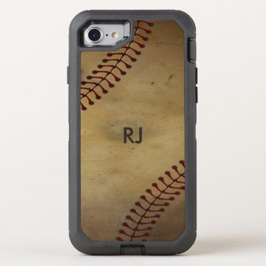 Vintage  Baseball OtterBox Defender iPhone 7 Case