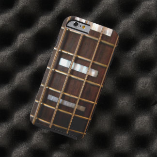 Vintage Bass Guitar Tough iPhone 6 Case