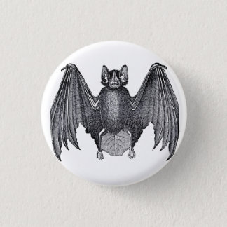 Vintage Bat Gothic Punk Button Pin