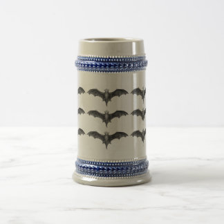 Vintage Bats Traditional German Beer Stein Mug