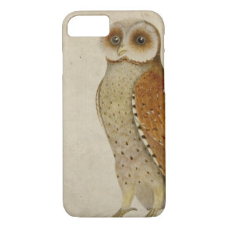 Vintage Bay Owl Illustration iphone 7 case