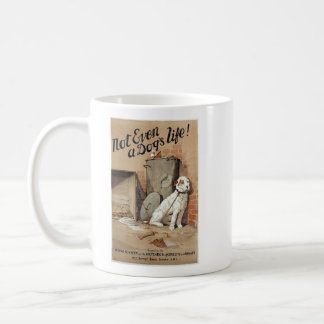 Vintage - Be Kind to Animals - A Dog's Life, Coffee Mug