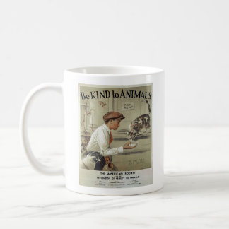 Vintage - Be Kind to Animals - Abandoned Animals, Coffee Mug