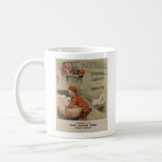 Vintage - Be Kind to Animals - Drive Carefully, Coffee Mug
