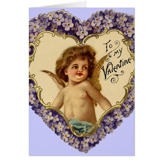 Vintage Be My Valentine Card