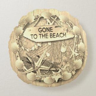 Vintage Beach Cushion - Gone to the Beach