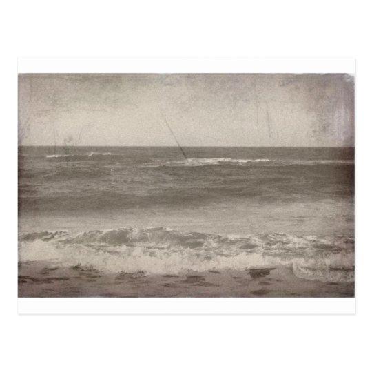 Vintage Beach Postcard