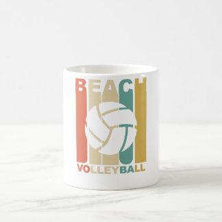 Vintage Beach Volleyball Graphic Coffee Mug