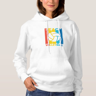 Vintage Beach Volleyball Graphic Hoodie