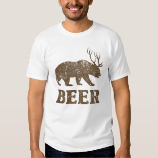Vintage Bear Deer T-Shirt