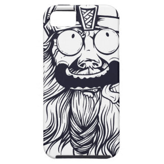 vintage bearded human iPhone 5 case