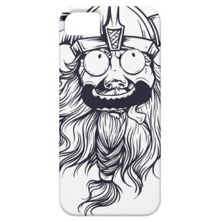 vintage bearded human iPhone 5 cases