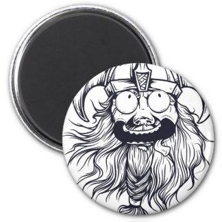 vintage bearded human magnet