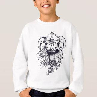 vintage bearded human sweatshirt