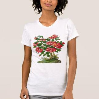 Vintage, Beautiful Pink Flowers Tee Shirt