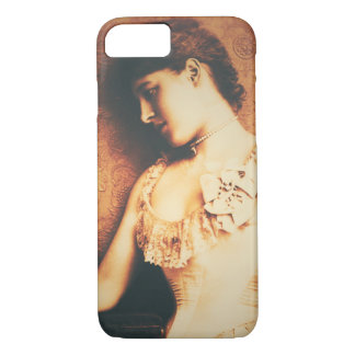 Vintage beautiful woman iphone 7 case