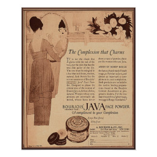 Vintage Beauty and Cosmetics Ad 1922 Poster