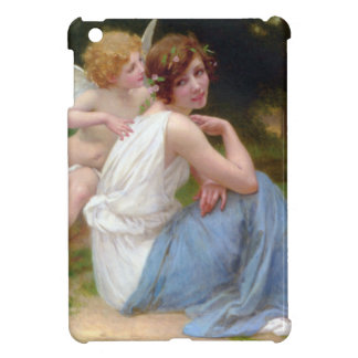 Vintage Beauty and Cupid Painting iPad Mini Covers