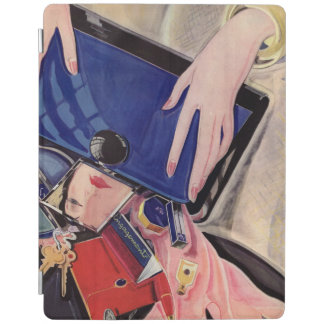 Vintage Beauty and Fashion Accessories iPad Cover